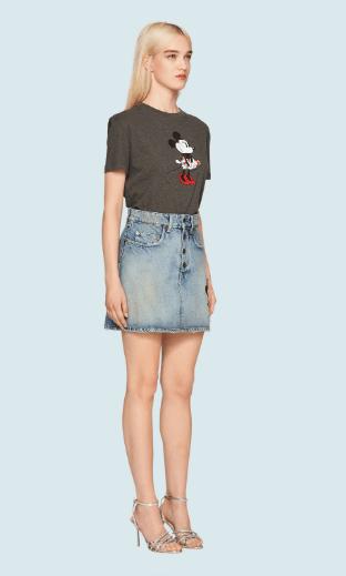 Miu Miu - T-shirts per DONNA online su Kate&You - MJN207_1WP4_F0308 K&Y6038