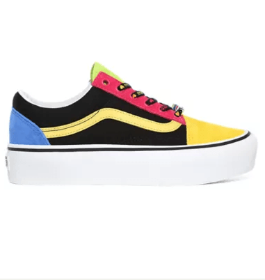 Vans Baskets  VANS BEADS OLD SKOOL PLATFORM Kate&You-ID8357