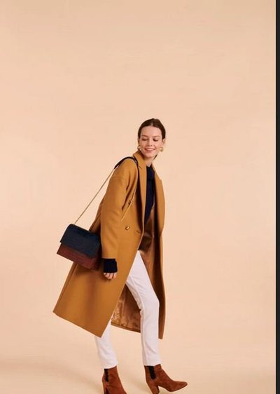 Двубортные пальто - Tara Jarmon для ЖЕНЩИН онлайн на Kate&You - 13301-M1157-891 - K&Y2415
