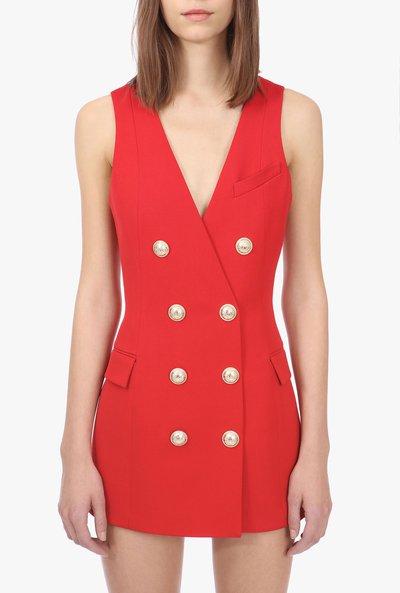 Короткие платья - Balmain для ЖЕНЩИН онлайн на Kate&You - SF16144W0343AA - K&Y2225