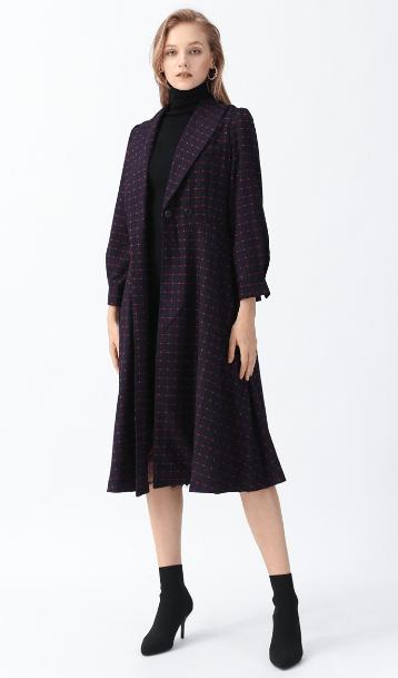 Chicwish - Manteaux Croisés & Duffle-Coat pour FEMME online sur Kate&You - D191125016 K&Y7485