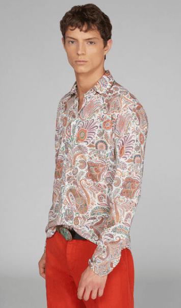 Etro - Shirts - for MEN online on Kate&You - 201U1K09447650990 K&Y7384