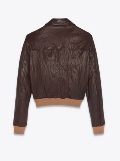 Yves Saint Laurent - Leather Jackets - for WOMEN online on Kate&You - 665561YCGD22424 K&Y11689