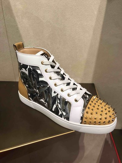 Christian Louboutin - Sneakers per UOMO Louis Spikes online su Kate&You - 19w K&Y1720