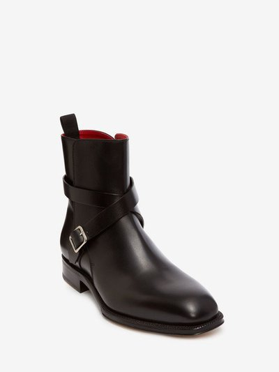 Alexander McQueen - Bottes & Bottines pour HOMME online sur Kate&You - 505614WHBS01000 K&Y2261