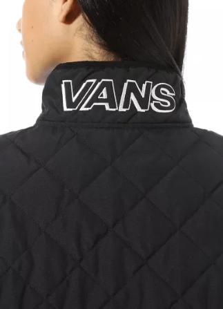 Vans - Bombers pour FEMME ANORAK QUILTED V MOCK online sur Kate&You - VN0A4SB7BLK K&Y8607