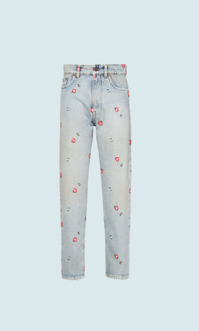 Miu Miu Slim-Fit Trousers Kate&You-ID7918