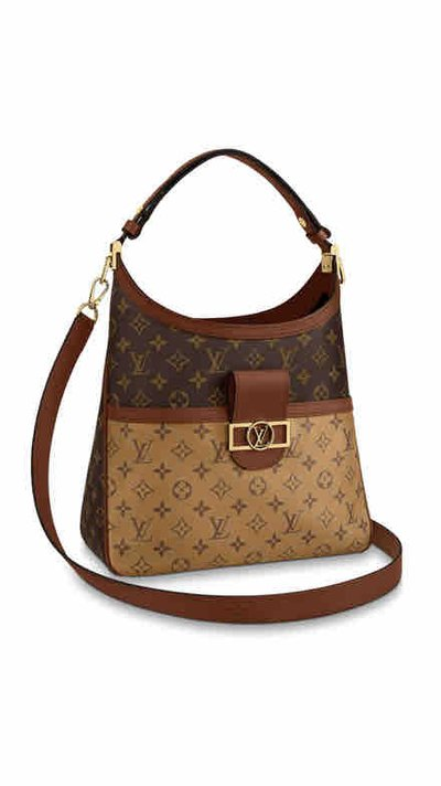 Louis Vuitton Tote Bags SAC DAUPHINE HOBO MM Kate&You-ID8209