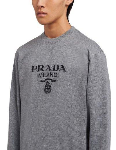 Prada - Sweatshirts - for MEN online on Kate&You - UJL148_1Y13_F0BD9_S_202  K&Y11723