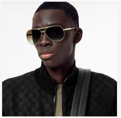 Louis Vuitton - Sunglasses - ATTITUDE PILOTE for MEN online on Kate&You - Z0339U K&Y11040