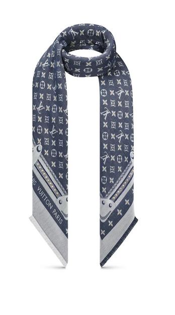 Louis Vuitton - Scarves - Studdy Denim for WOMEN online on Kate&You - M76341 K&Y8631