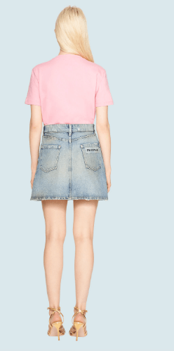 Miu Miu - T-shirts per DONNA online su Kate&You - MJN208_1WP4_F0028 K&Y6036