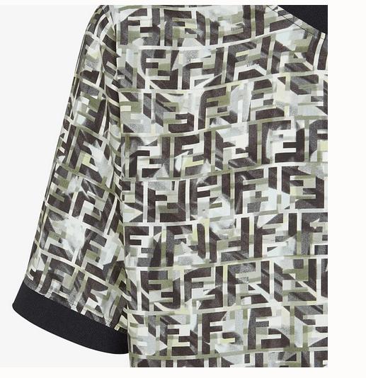 Fendi - T-Shirts & Débardeurs pour HOMME online sur Kate&You - FY1021ABLKF0KUK K&Y7786