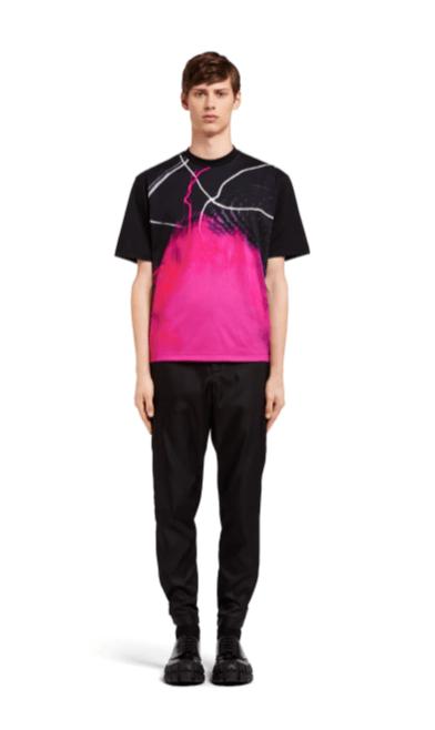 Prada - T-Shirts & Débardeurs pour HOMME online sur Kate&You - UJN317_1VEK_F0002_S_162 K&Y2373