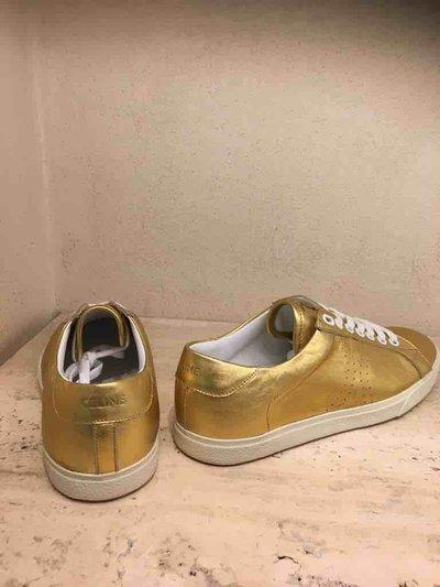 Celine - Baskets pour FEMME Sneaker basse triomphe en veau métallisé online sur Kate&You - 328063093C.35OR K&Y1569