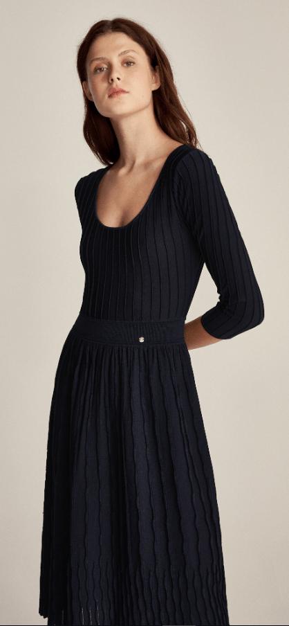 Cortefiel - Robes Mi-longues pour FEMME online sur Kate&You - 6197353 K&Y7261