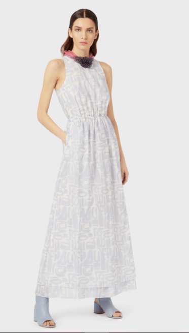 Emporio Armani - Robes Longues pour FEMME online sur Kate&You - 3H2A972NWZZ1F810 K&Y8204