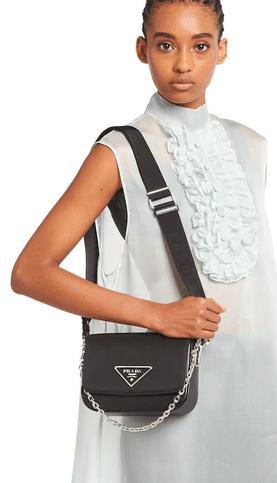 Prada - Sacs portés épaule pour FEMME online sur Kate&You - 1BD263_2DLN_F0002_V_IOO K&Y9309