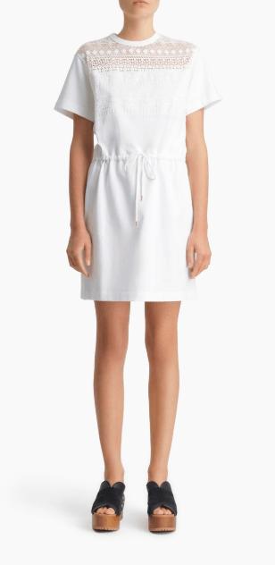 Короткие платья - Chloé для ЖЕНЩИН онлайн на Kate&You - CHS20SJR34097107 - K&Y7740