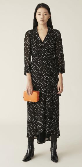 Ganni - Robes Longues pour FEMME online sur Kate&You - F4621 K&Y7057