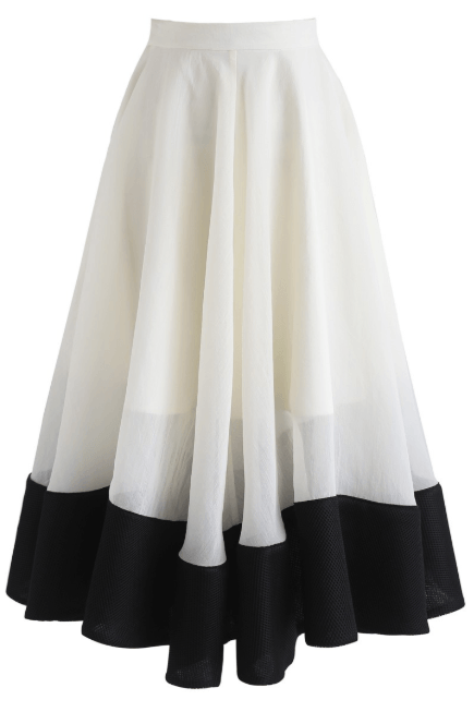 Chicwish 3_4 length skirts Kate&You-ID7317