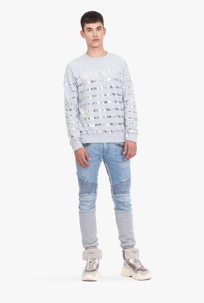Balmain - Jeans slim-fit per UOMO online su Kate&You - RH15253D0256KA K&Y2100