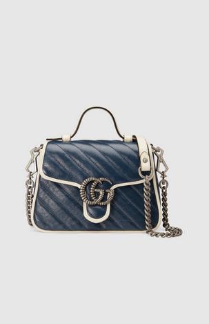 Gucci Cross Body Bags Mini sac à main GG Marmont Kate&You-ID8382