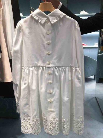 Miu Miu - Vestiti corti per DONNA Robe en broderie anglaise et dentelle online su Kate&You - MF3421_1TYR_F0K74 K&Y1521