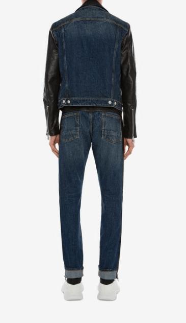 Джинсовые куртки - Alexander McQueen для МУЖЧИН онлайн на Kate&You - 603444Q5HSI1138 - K&Y7723
