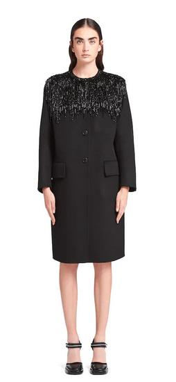 Однобортные пальто - Prada для ЖЕНЩИН онлайн на Kate&You - P670NR_1X8G_F0806_S_202 - K&Y9897