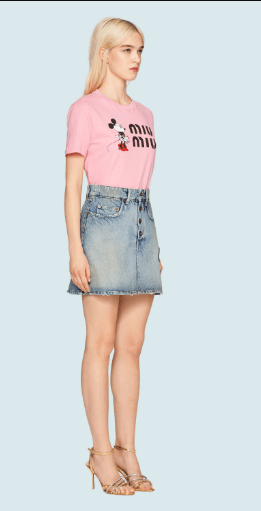 Miu Miu - T-shirts - for WOMEN online on Kate&You - MJN208_1WP4_F0028 K&Y6036