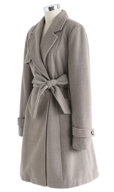 Chicwish - Double Breasted & Peacoats - for WOMEN online on Kate&You - T191214021 K&Y7446