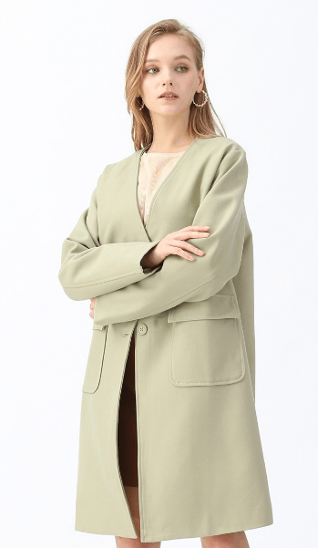 Однобортные пальто - Chicwish для ЖЕНЩИН онлайн на Kate&You - T191026009 - K&Y7482