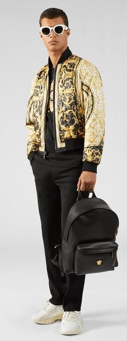 Versace - Sacs à dos et Bananes pour HOMME online sur Kate&You - DFZ5350-DGOVV3_DTU_UNICA_D41OH__ K&Y7416