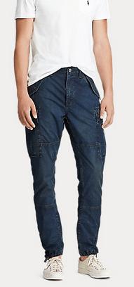 Ralph Lauren - Jeans cropped per UOMO online su Kate&You - 506950 K&Y9301