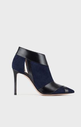 Giorgio Armani Boots superpositions et découpe latérale Kate&You-ID8363