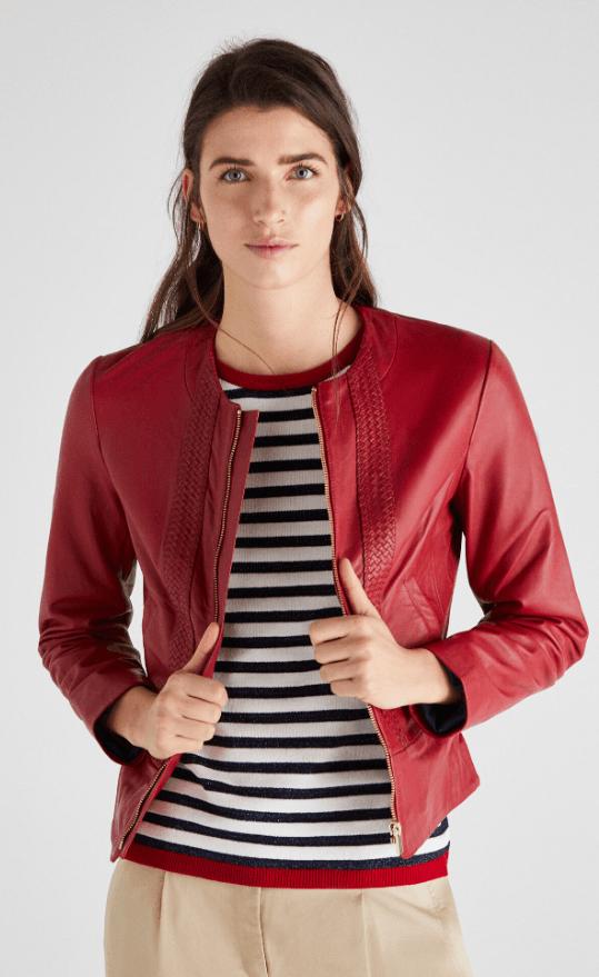 Кожаные куртки - Cortefiel для ЖЕНЩИН онлайн на Kate&You - 7057369 - K&Y7167