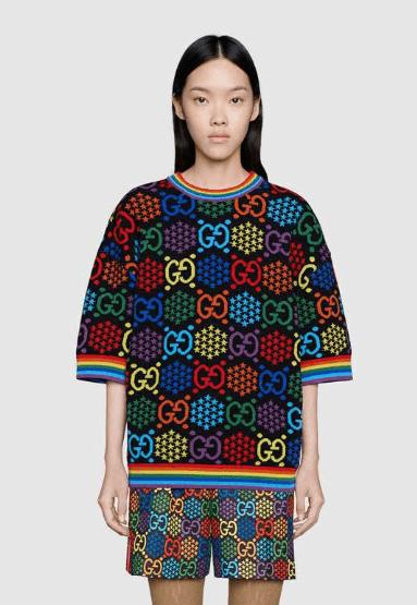 Gucci - T-shirts pour FEMME online sur Kate&You - 611260 XKA71 1082 K&Y7000
