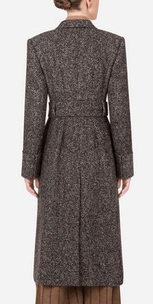 Двубортные пальто - Dolce & Gabbana для ЖЕНЩИН онлайн на Kate&You - - K&Y9170