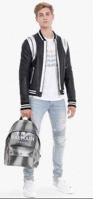 Рюкзаки и поясные сумки - Balmain для МУЖЧИН онлайн на Kate&You - - K&Y7539