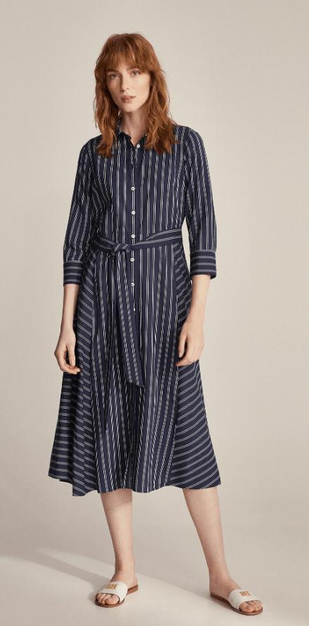 Cortefiel - Robes Mi-longues pour FEMME online sur Kate&You - 3817717 K&Y7233