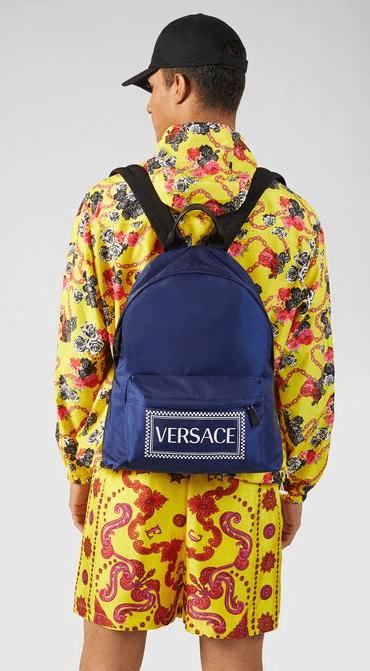 Versace - Sacs à dos et Bananes pour HOMME online sur Kate&You - DFZ5350-DNYVER_DTU_UNICA_K88BN__ K&Y7417