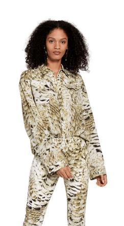 Roberto Cavalli - Chemises pour FEMME online sur Kate&You - LQT702SQZ3500504 K&Y9292