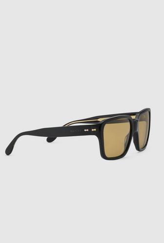 Gucci - Occhiali da sole per UOMO Lunettes de soleil carrées online su Kate&You - 632691 J0740 1073 K&Y8394