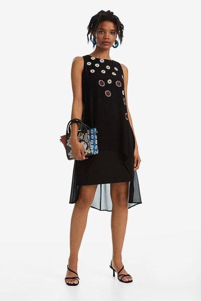Desigual - Robes Mi-longues pour FEMME online sur Kate&You - 19WWVW232000 K&Y2581