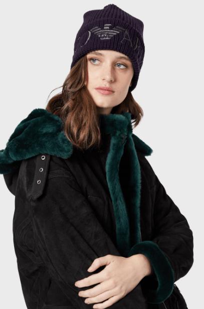 Emporio Armani - Bonnets & Chapeaux pour FEMME online sur Kate&You - 6372139A501101091 K&Y5704