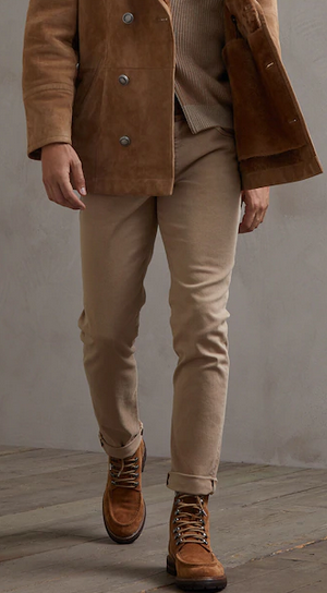 Укороченные джинсы - Brunello Cucinelli для МУЖЧИН онлайн на Kate&You - 202M277PJ2010 - K&Y9590