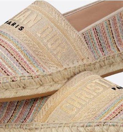 Dior - Espadrilles - for WOMEN online on Kate&You - KDB585MLU_S72K K&Y12259