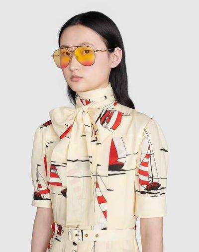 Gucci Sunglasses Kate&You-ID11480