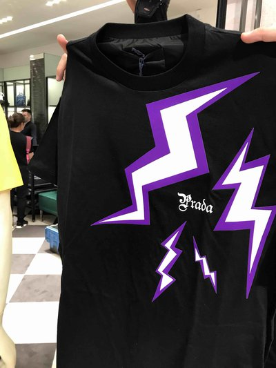 Prada - T-shirts & canottiere per UOMO Thunder T-shirt online su Kate&You - 1VQAF0002 K&Y1413